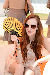 OLIVIA GRANT at the Veuve Clicquot Gold Cup, Cowdray Park, Midhurst, West Sussex on 21st July 2013.