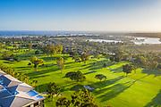 Newport Beach Fashion Island Aerial Photo