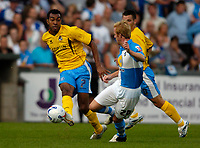 Photo: Richard Lane.<br />Bristol Rovers v Wycombe Wanderers. Coca Cola League 2. 08/08/2006. <br />Wycombe's Kevin Betsy crosses.
