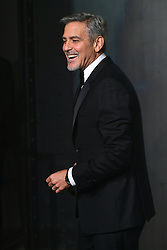 George Clooney attending the Lost in Space event to celebrate the 60th anniversary of the OMEGA Speedmaster held in the Turbine Hall, Tate Modern, 25 Sumner Street, Bankside, London.
