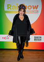 Harriet Thorpe at  the Rainbow Honours Awards, at Madame Tussauds, London. 04.12.19
