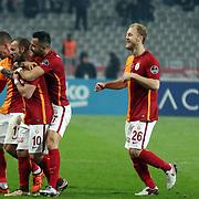 Galatasaray's Sneijder during their Turkish Super League soccer derby match Besiktas between Galatasaray at the Ataturk Olimpiyat stadium in Istanbul Turkey on Monday, 14 December 2015. Photo by Aykut AKICI/TURKPIX