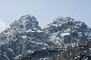 Mountains above the Vrsic pass, Triglav national park, near Kranjska gora, Slovenia. © Rudolf Abraham