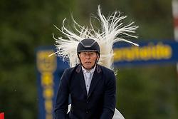 Demeersman Dirk, BEL, Alessi Z<br /> Belgisch Kampioenschap Jumping  <br /> Lanaken 2020<br /> © Hippo Foto - Dirk Caremans<br /> 03/09/2020