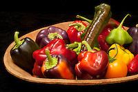 peppers, poivrons- Photograph by Owen Franken - Photograph by Owen Franken
