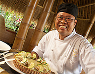 Chef Made Tantra serves up a lime coconut pie. with a nut crust.