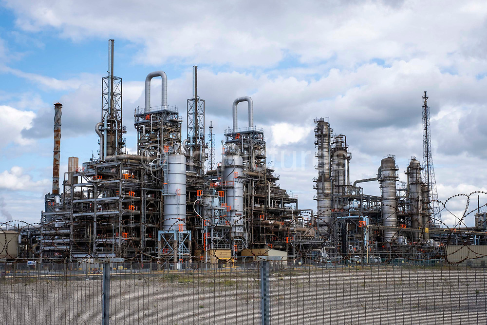 INEOS Seal Sands Plant in Teesside, North East England, UK.  This industrial plant is one of the largest manufacturers of Acrylonitrile in Europe and is the largest producer of purified Acetonitrile in Europe.
