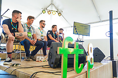 Luciano Bortoluzzi, Diogo Kehl, João Luís Giovanella e Micael Eckert