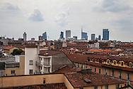 Milano Skyline, nuovi grattacieli milanesi.              Milan skyline, new skyscrapers in Milan.