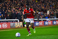 Jordan Green of Barnsley (15) in action during the EFL Sky Bet League 1 match between Barnsley and Sunderland at Oakwell, Barnsley, England on 12 March 2019.
