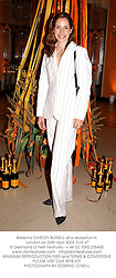 Ballerina DARCEY BUSSELL at a reception in London on 24th April 2003.PJA 47