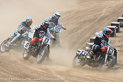 Fist City Flat Track at the Tennessee Motorcycles and Music Revival at Loretta Lynn's Ranch. Hurricane Mills, TN, USA. Saturday, May 22, 2021. Photography ©2021 Michael Lichter.