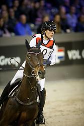 Blom Merel, (NED), Chiccolino<br /> Indoor Brabant - 's Hertogenbosch 2016<br /> © Hippo Foto - Dirk Caremans<br /> 10/03/16