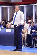 BRINDISI, 18 NOVEMBRE 2015<br /> BASKET, EUROCUP<br /> ENEL BRINDISI - GRISSINBON REGGIO EMILIA<br /> NELLA FOTO: Piero Bucchi<br /> FOTO CIAMILLO