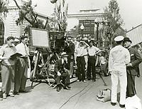 1935 Filming Annapolis Farewell at Paramount Studios
