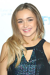 Lauren Platt, Frozen Sing-Along - VIP film screening, Royal Albert Hall, London UK, 17 November 2014, Photo by Richard Goldschmidt ©under licence to London News Pictures. +44 (0)208 408 0190