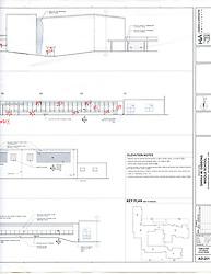 Sarah Gibbons Middle School Pre-Demolition Documentation. Key Plan Number 8 of 15