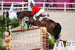 Tebbel Maurice, GER, Don Diarado, 345<br /> Olympic Games Tokyo 2021<br /> © Hippo Foto - Stefan Lafrentz<br /> 07/08/2021