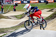 #777 (MAIRE Camille) FRA at Round 4 of the 2019 UCI BMX Supercross World Cup in Papendal, The Netherlands