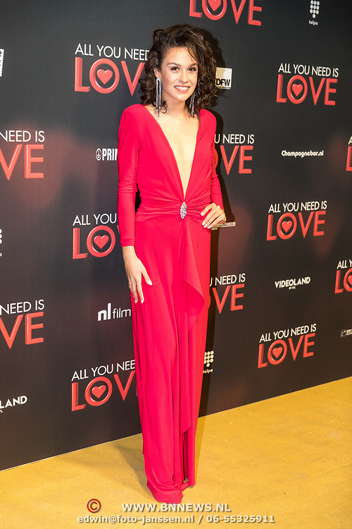NLD/Amsterdam/20181126 - premiere All You Need Is Love, Holly Brood