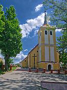 Orzysz – miasto położone w województwie warmińsko-mazurskim, nazywane jest wojskową stolicą Polski. Poewangelicka świątynia wzniesiona w 1530 roku, obecnie Kościół Matki Bożej Szkaplerznej–rzymskokatolickikościół parafialny.