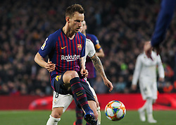 February 6, 2019 - Barcelona, BARCELONA, Spain - Rakitic of Barcelona in action during Spanish King championship, football match between Barcelona and Real Madrid, February 06th, in Camp Nou Stadium in Barcelona, Spain. (Credit Image: © AFP7 via ZUMA Wire)