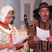 Nieuwjaarsreceptie gemeente Huizen 1999, Thomasvaer en Pieternel