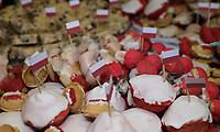 Bialystok, 19.02.2019. Obchody 100. lecia odzyskania niepodleglosci przez Bialystok N/z okolicznosciowe wypieki na 100 lat niepodleglosci przygotowane przez kola gospodyn wiejskich na prezentacje w WOAK ( Wojewodzkim Osrodku Animacji Kultury ) fot Michal Kosc / AGENCJA WSCHOD