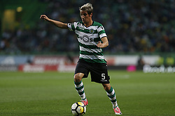 April 22, 2018 - Lisbon, Lisboa, Portugal - Sporting CP Defender Fabio Coentrao from Portugal during the Premier League 2017/18 match between Sporting CP and Boavista FC, at Alvalade Stadium in Lisbon on April 22, 2018. (Credit Image: © Dpi/NurPhoto via ZUMA Press)