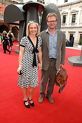 MARIELLA FROSTRUP and JASON McCUE at the Royal Academy of Art Summer Exhibition Preview Party on 4th June 2008.<br /><br />NON EXCLUSIVE - WORLD RIGHTS