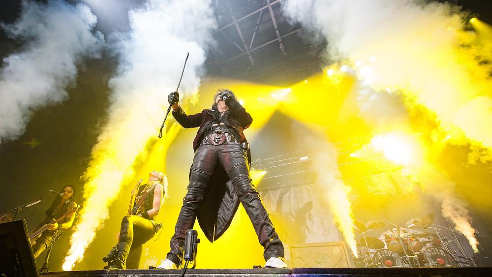 Alice Cooper in concert at theSSE Hydro, Glasgow, Scotland, Britain 12th November 2017