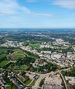 Aerial view of Sun Prairie, Wisconsin.