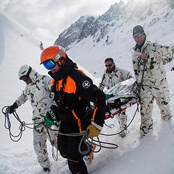 2017/02 Exercice avalanche à Valloire