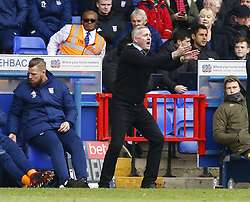 May 5, 2019 - Ipswich, England, United Kingdom - Paul Lambert manager of Ipswich Town.during Sky Bet Championship match between Ipswich Town and Leeds United at Portman Road, Ipswich on 05 May 2019. (Credit Image: © Action Foto Sport/NurPhoto via ZUMA Press)