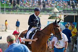 Van Springel Joris, BEL, Lully des Aulnes<br /> Dressage test evening<br /> Olympic Games Rio 2016<br /> © Hippo Foto - Dirk Caremans<br /> 07/08/16