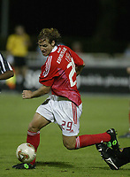 Fotball<br /> Benfica Hungarian international striker Miklos Feher (Ungarn) collapsed and died after suffering a heart attack during the Portuguese league game against Vitoria<br /> <br /> Arkiv<br /> <br /> Foto: Digitalsport/AFCD/Chamaco<br /> <br /> THIS PICTURES IS NORWAY ONLY!