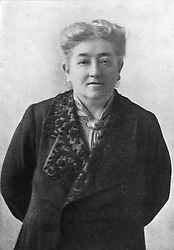 OLIVE EMILIE SCHREINER -  South African writer, feminist and champion of human rights  in Africa ..1862 - 1920 (Credit Image: © Mary Evans via ZUMA Press)