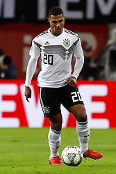 November 15, 2018 - Leipzig, Germany - Serge Gnabry of Germany in action during the international friendly match between Germany and Russia on November 15, 2018 at Red Bull Arena in Leipzig, Germany. (Credit Image: © Mike Kireev/NurPhoto via ZUMA Press)