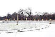 Paris, France. 2 Decembre 2010..Jardin du Luxembourg...Paris, France. December 2nd 2010..Jardin du Luxembourg.