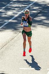 04-11-2018 USA: 2018 TCS NYC Marathon, New York<br /> Race day  TCS New York City Marathon / Gerda Steyn, 2:31:04 - South Africa