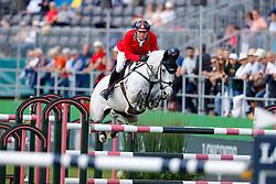 Balsiger Bryan, SUI, AK's Courage<br /> European Championship Riesenbeck 2021<br /> © Hippo Foto - Dirk Caremans<br /> 02/09/2021