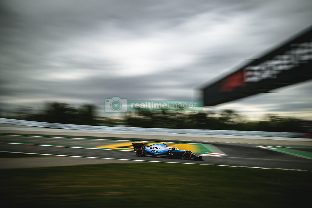 May 11, 2019 - Barcelona, Catalonia, Spain - ROBERT KUBICA (POL) from team Williams drives in his FW42 during the third practice session of the Spanish GP at Circuit de Catalunya (Credit Image: © Matthias Oesterle/ZUMA Wire)