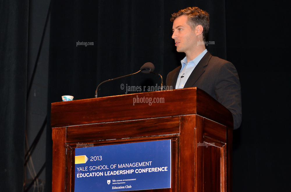 Louisiana State Superintendent John White speaking at The Yale SOM Education Leadership Conference. Friday Morning Keynote. 5 April 2013.