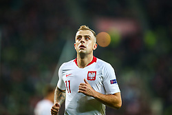 November 15, 2018 - Gdansk, Poland - Kamil Grosicki of Poland during the international friendly soccer match between Poland and Czech Republic at Energa Stadium in Gdansk, Poland on 15 November 2018. (Credit Image: © Foto Olimpik/NurPhoto via ZUMA Press)
