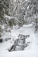 Wagner Falls<br /> Munising, Michigan