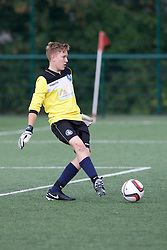 NEWPORT, WALES - Thursday, August 4, 2016: South Wales Academy Boys' goalkeeper Dylan Noot during the Welsh Football Trust Cymru Cup 2016 at Newport Stadium. (Pic by Paul Greenwood/Propaganda)