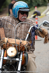 Riding into the Born Free Motorcycle Show (BF11) at Oak Canyon Ranch, Silverado  CA, USA. Saturday, June 22, 2019. Photography ©2019 Michael Lichter.