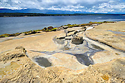 Shoreline along the Pacific Ocean<br /> <br /> Hornby Island in the Gulf Islands<br /> British Columbia<br /> Canada