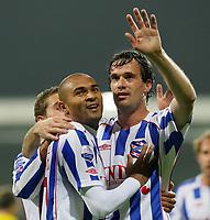Fotball<br /> Nederland<br /> Foto: ProShots/Digitalsport<br /> NORWAY ONLY<br /> <br /> vvv - venlo  - sc heerenveen, seizoen 2007/ 2008 , <br /> 27-10-2007 ,  stadion de koel , afonso alves en gerald sibon na de 0-4