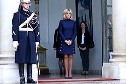 November 10, 2018 - Paris, Ile-de-France, Frankreich - Brigitte Macron empfängt Melania Trump im Élysée-Palast. Paris, 10.11.2018 (Credit Image: © Future-Image via ZUMA Press)